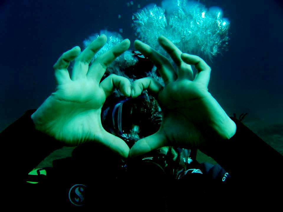 Athens scuba in couples